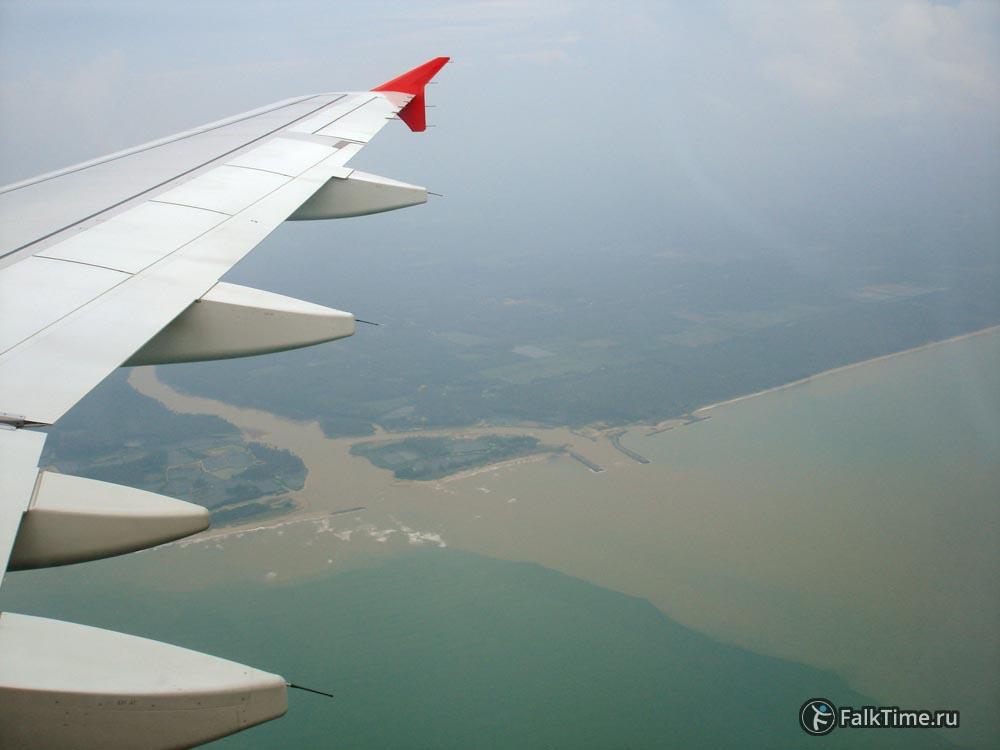 Вид из самолёта
