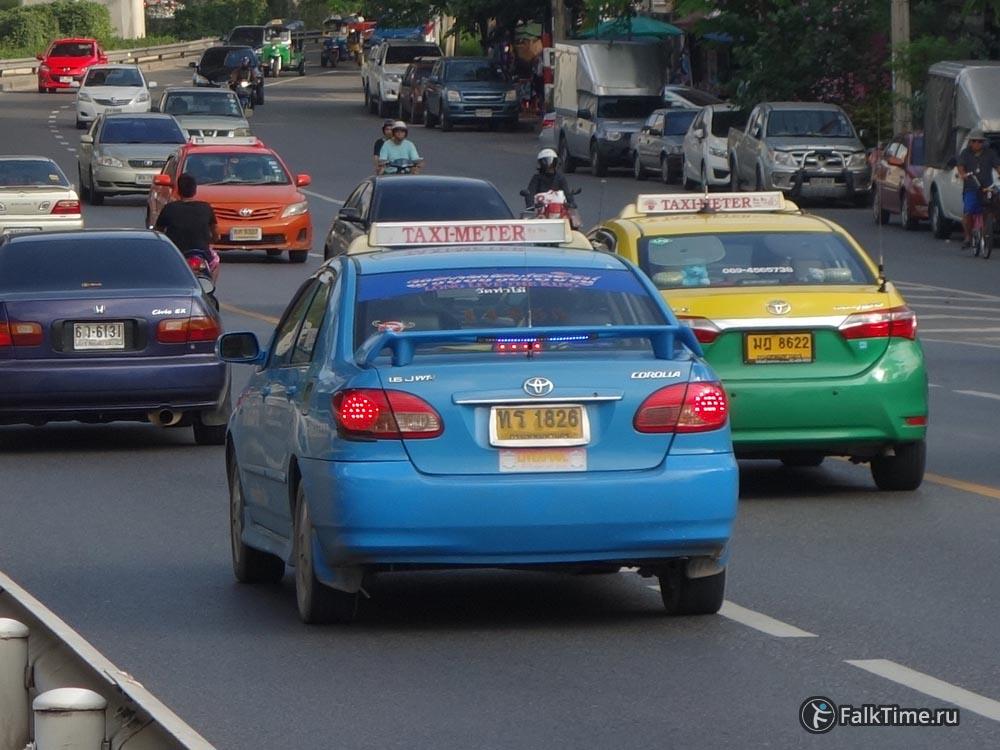 Бангкокские такси