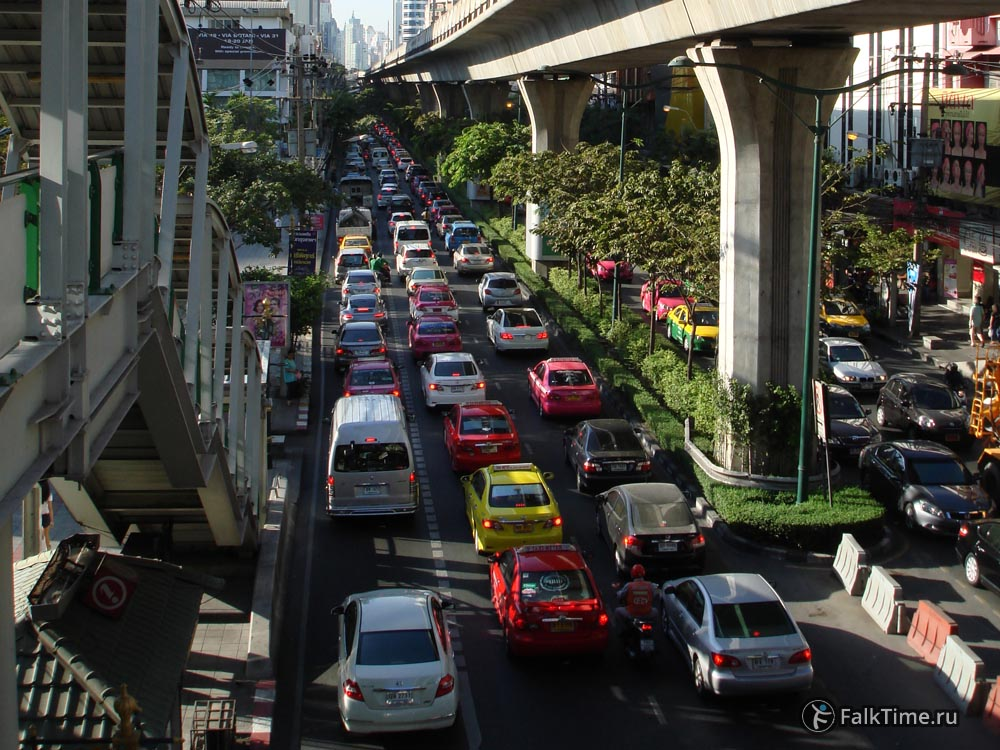Пробка в Бангкоке