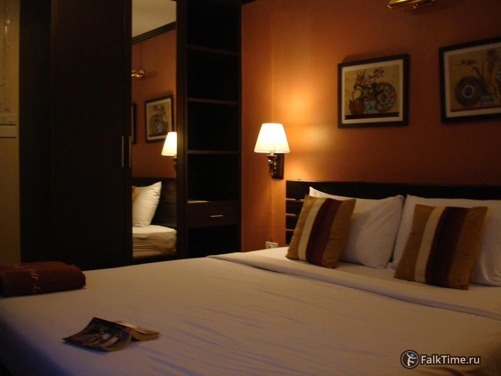 Дешёвый отель в Бангкоке, номер
