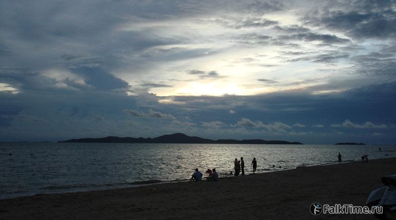 Вид на остров Лан
