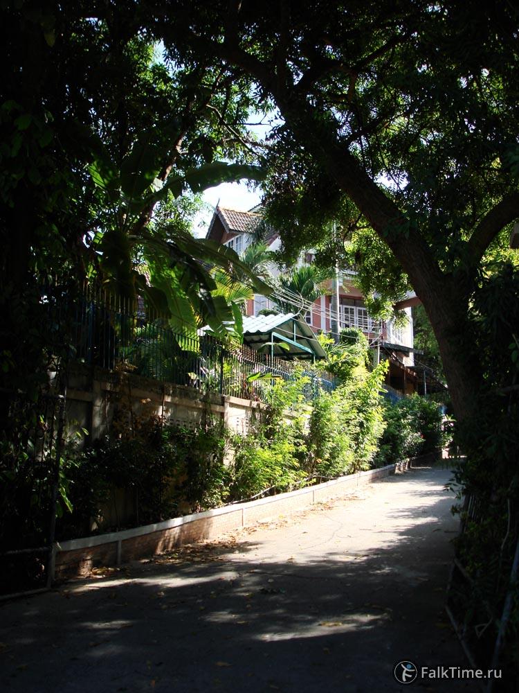 Зелёная улица в Паттайе