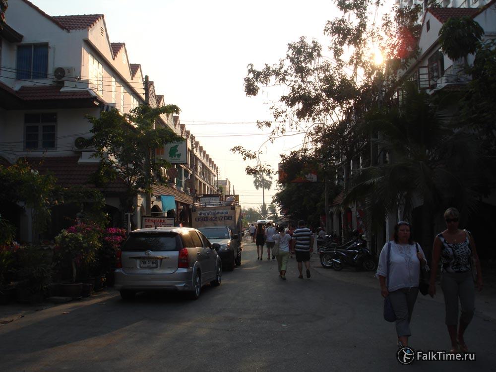 Улица, ведущая к пляжу