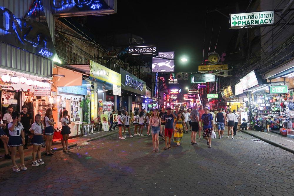 Вокинг стрит ночью