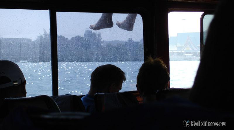 Паром Паттайя-остров Лан