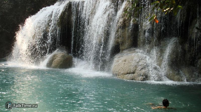 Второй каскад водопада