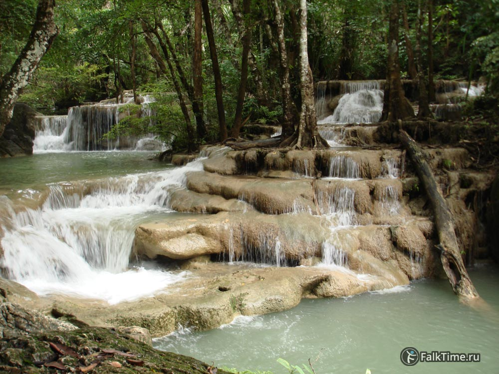 Пятый каскад водопада
