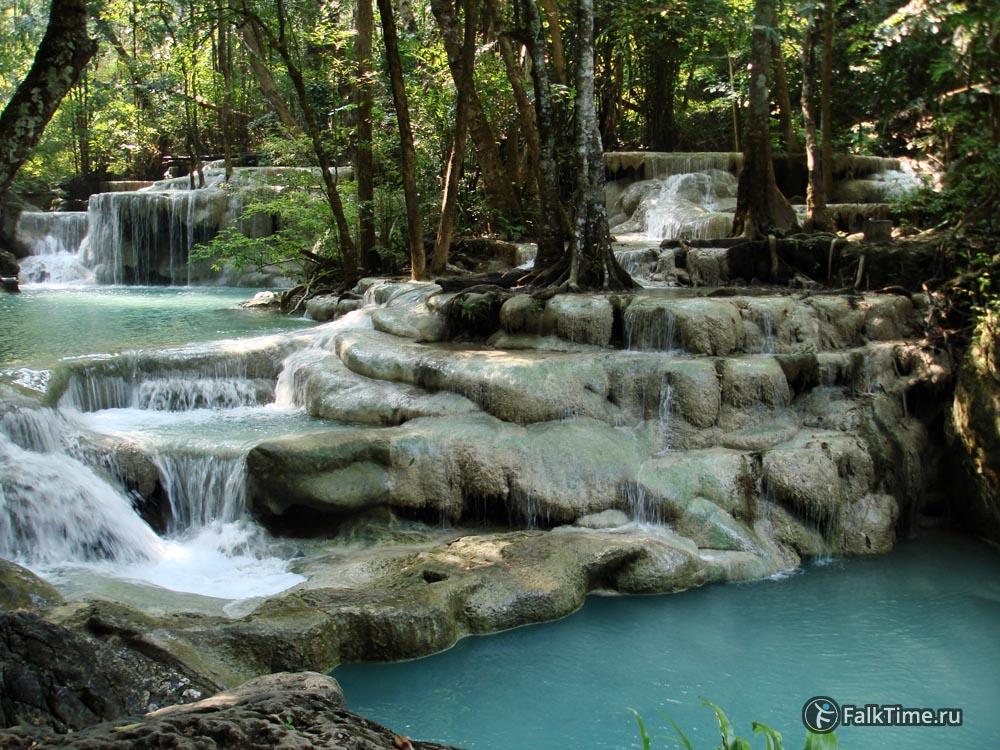 Пятый уровень водопада