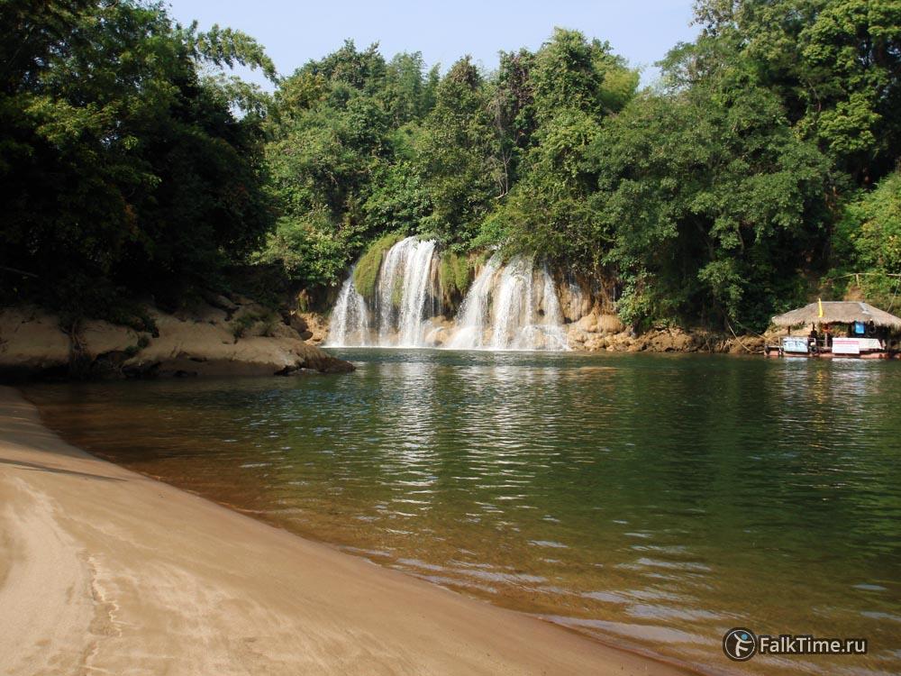 Водопад Сай Йок Лек